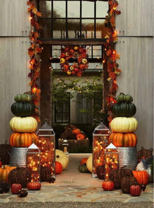 Autumn Charm For The Outdoor Living Space