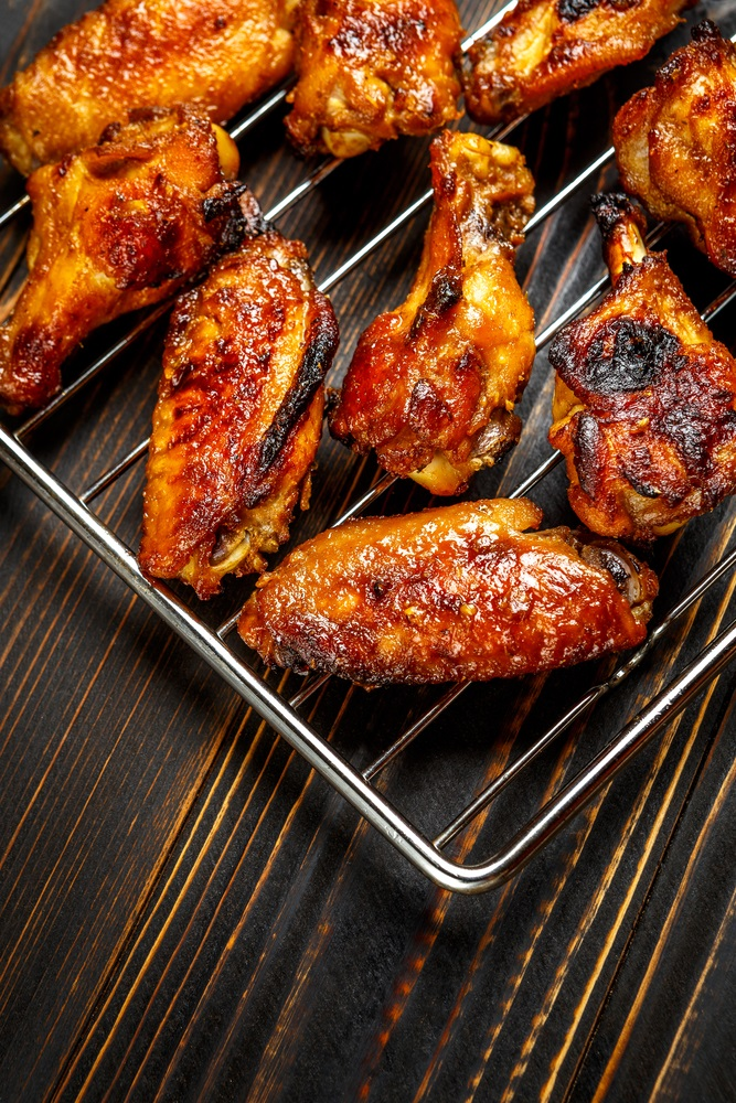 hot grilled wings