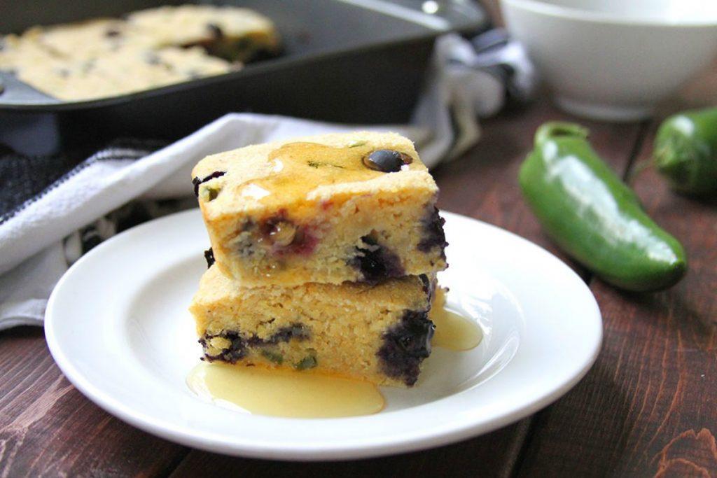 jalapeno blueberry cornbread