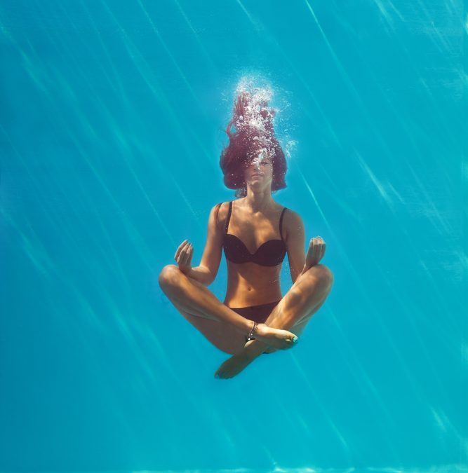 Practice Poolside Meditation & Yoga