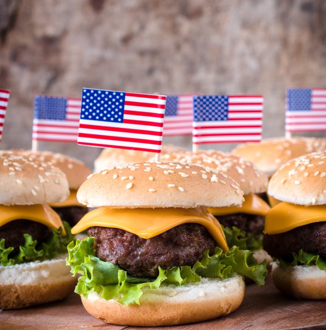 Grilling Up Burgers For National Burger Day