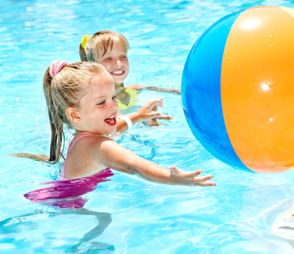 fun swimming pool games