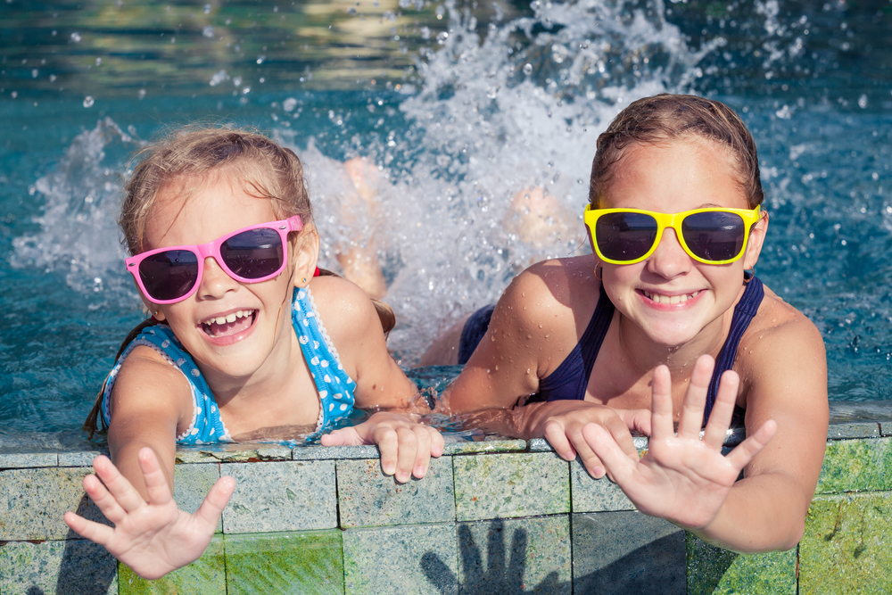 Fun In The Hot Tub With Your Children