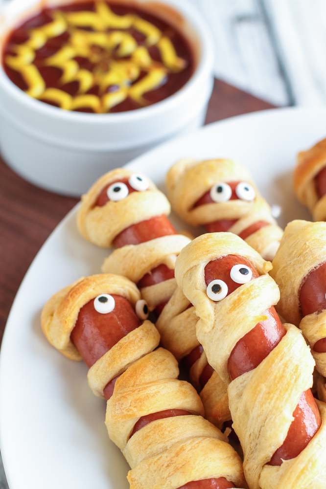 halloween hot dogs