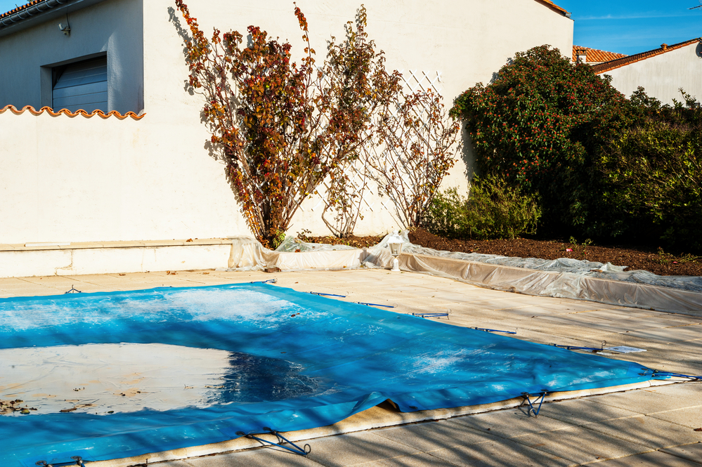 How To Care For Pool Cover In The Winter