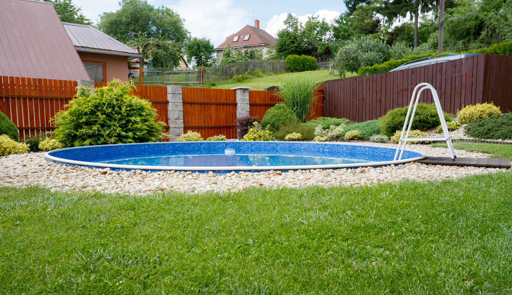 No Yard Is Too Small For A Swimming Pool...Really!