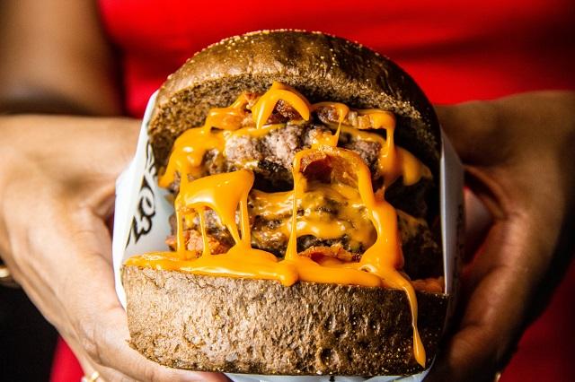 Grill Up Stuffed Burgers